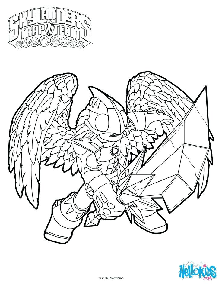 The best free Skylander coloring page images. Download from ...