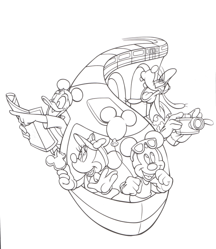 Walt Disney Coloring Pages at GetDrawings.com | Free for personal ...
