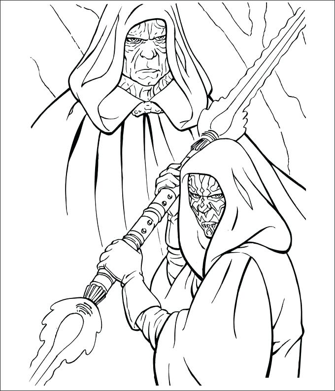 680x794 Star Wars Print Out Coloring Pages Vanda
