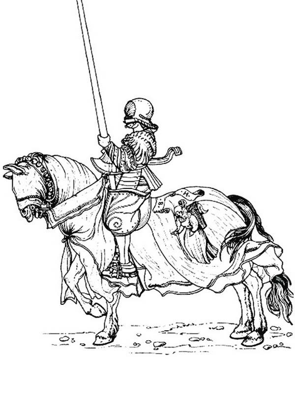 600x799 Lego Knights On War Horse Coloring Pages Batch Coloring