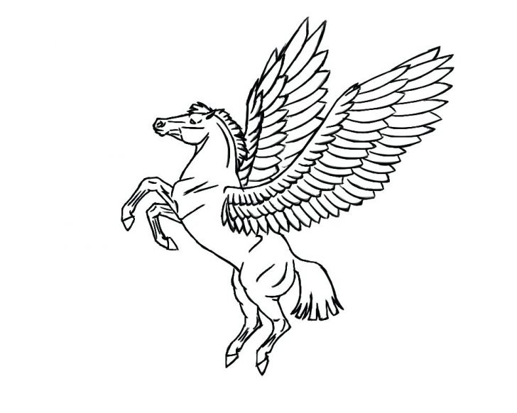 728x582 Strong War Horse In Horses Coloring Page Pages For Kids Free