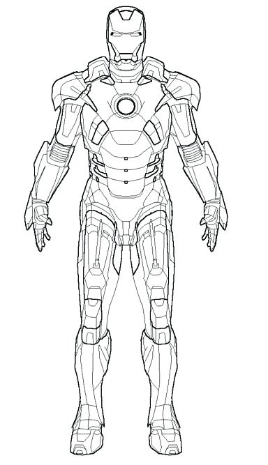 384x667 War Machine Coloring Pages Coloring Pages The Robot Iron Man Iron