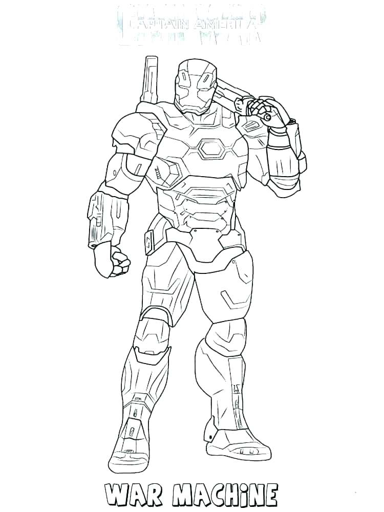750x1000 War Machine Coloring Pages Machine Coloring Pages War Machine