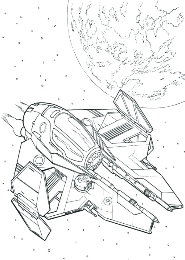 600x844 Space Ship Coloring Page Star Wars Ships Coloring Pages Space Ship