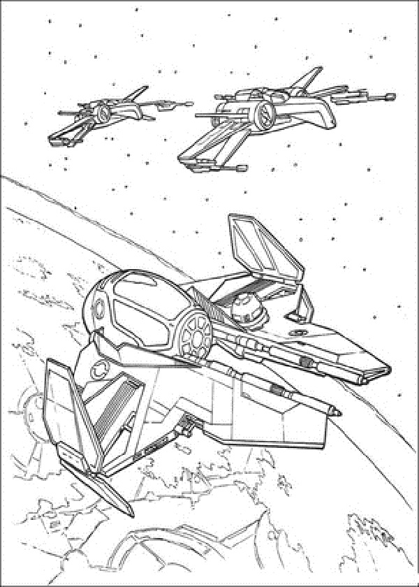600x840 Star Wars Ships Coloring Pages Free