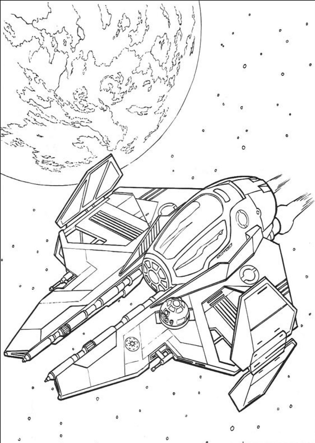 1024x1437 Coloring Pages Of Star Wars Ship Coloring Sheet Star Wars