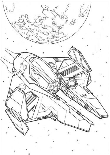 374x525 Star Wars Ship Coloring Page Pictures To Color
