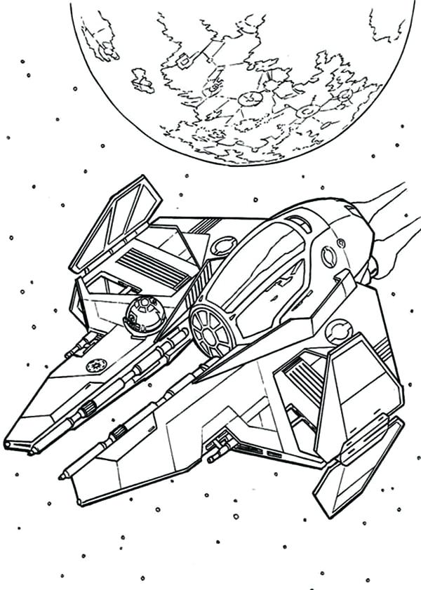 600x841 Idea Star Wars Ships Coloring Pages For Star Wars Spaceship