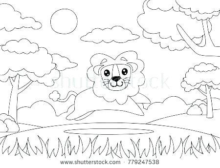 450x344 Lion King Color Pictures The Witch And Wardrobe Coloring Pages