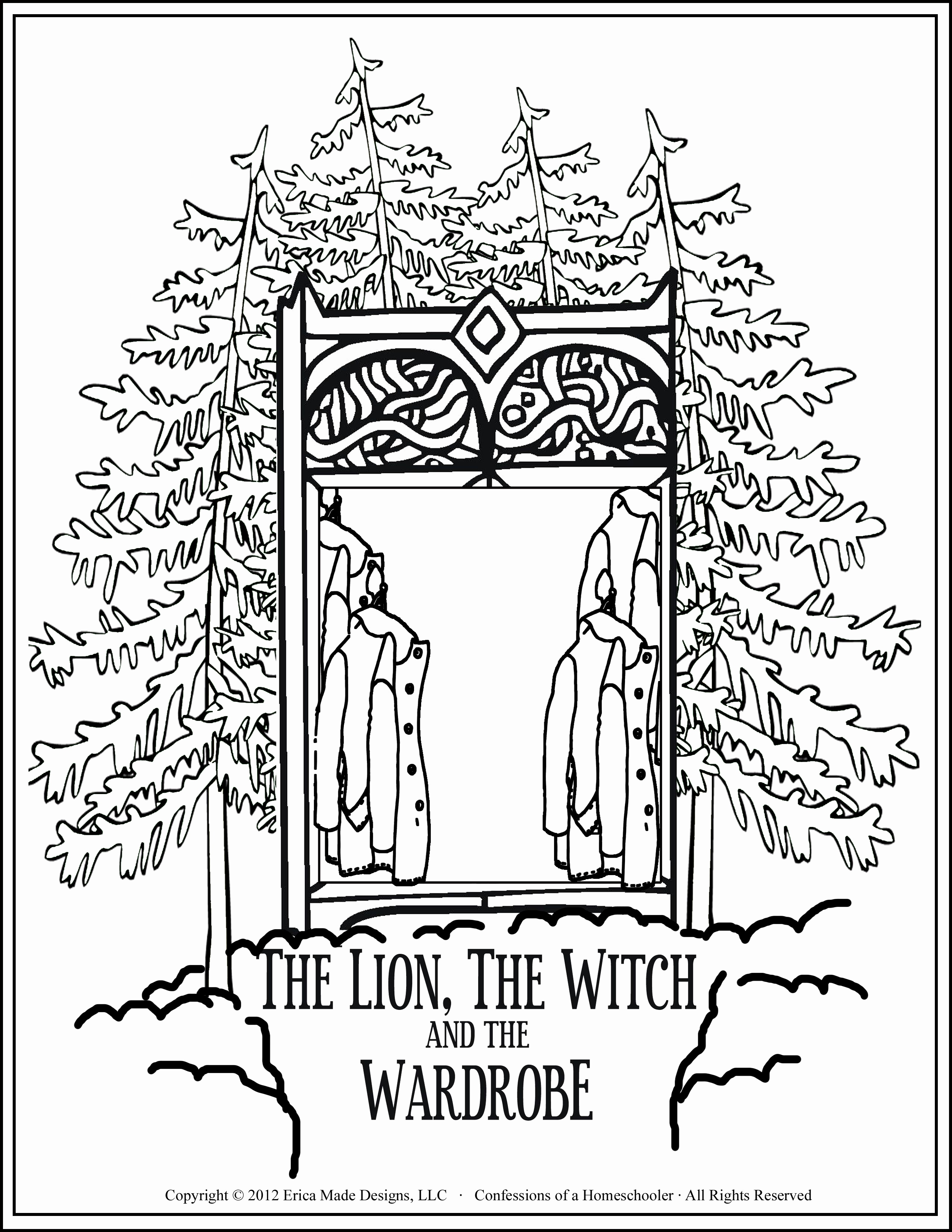 2550x3300 Witch Coloring Pages Unique The Lion The Witch And The Wardrobe