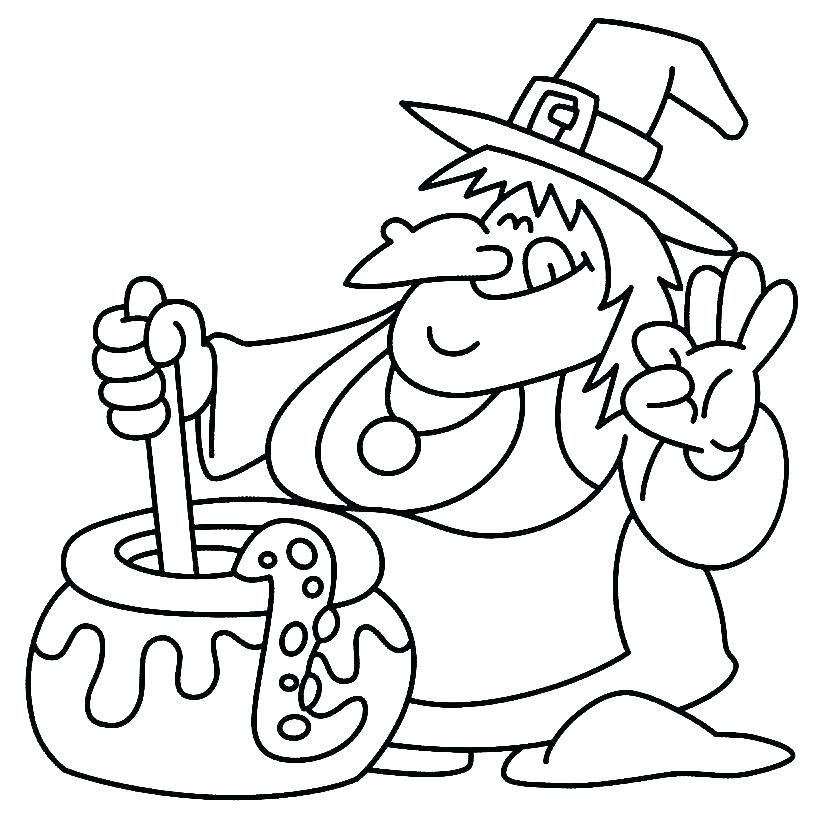 818x833 Coloring Page Witch Witch Coloring Pages Witch Witch Coloring