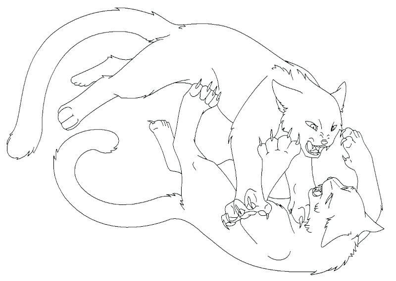 Warrior Cat Coloring Pages To Print