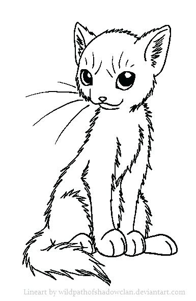 385x592 Warrior Cat Coloring Pages Fascinating Warrior Cats Coloring Pages