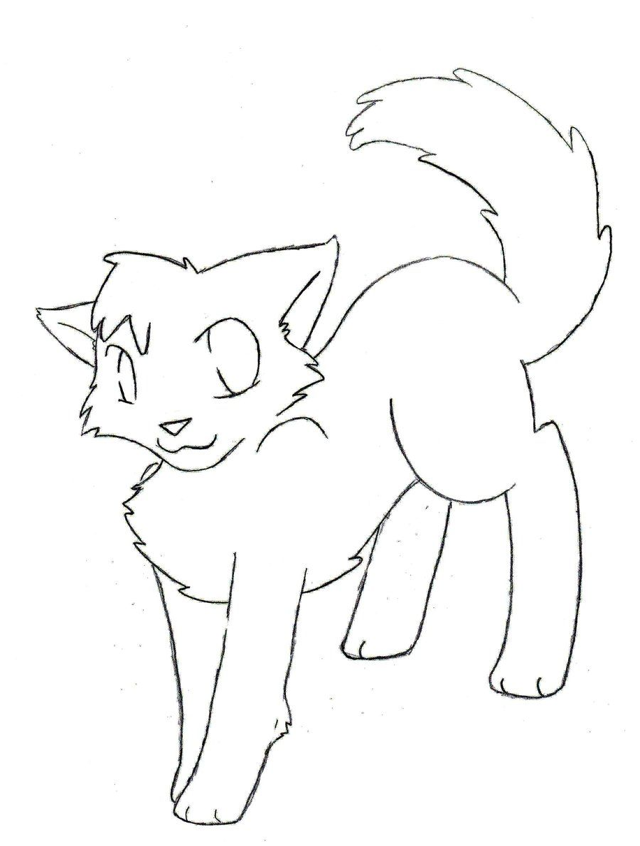900x1190 Amazing Warrior Cats Coloring Pages Coloringsuitecom Picture