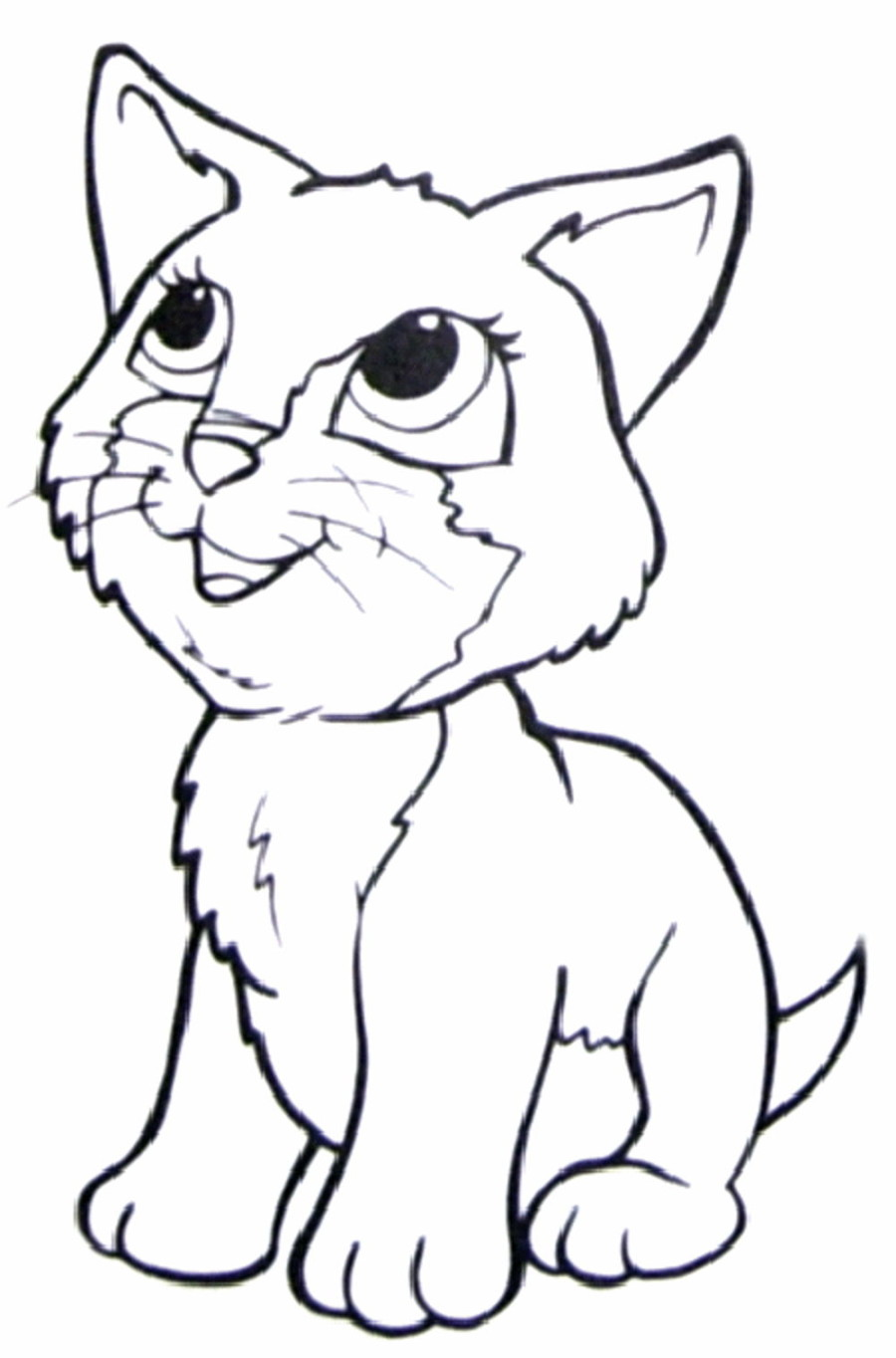 900x1364 Great Cat Pictures To Color And Print Warrior Coloring Pages