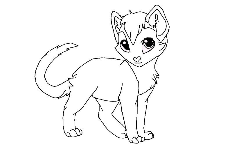 854x512 Warrior Cat Coloring Pages Mesmerizing Warrior Cat Coloring Pages