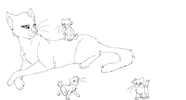 736x397 Unbelievable Cool Warrior Cats Coloring Print Pages Top Cat New