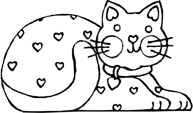666x390 Cat Printable Coloring Pages Warrior Cat Coloring Pages
