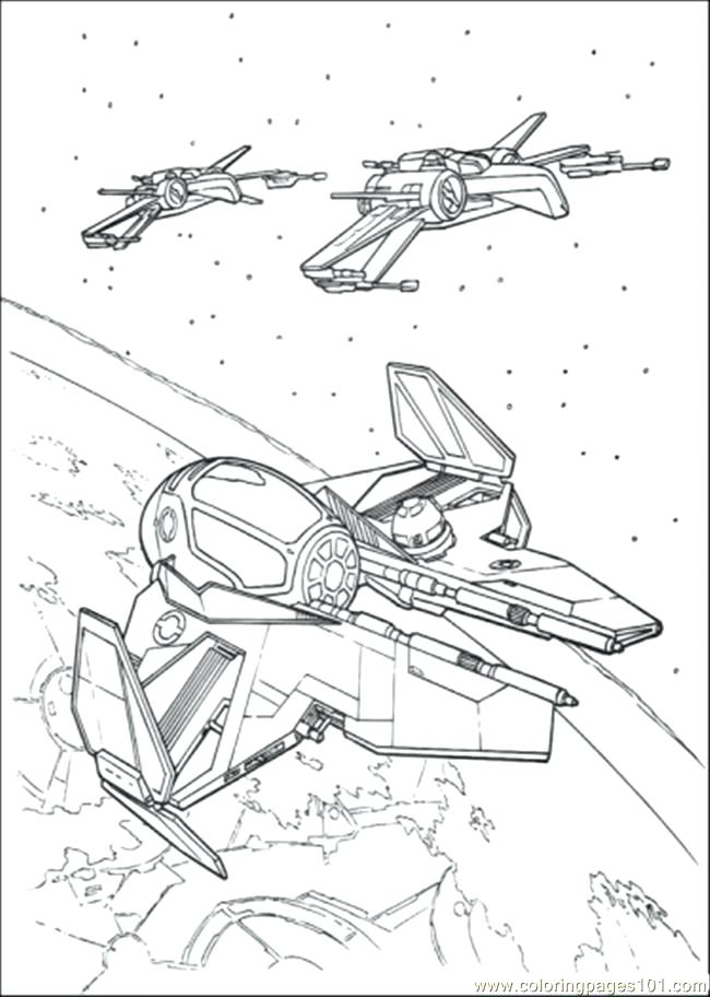 650x912 Star Wars Ships Coloring Sheets
