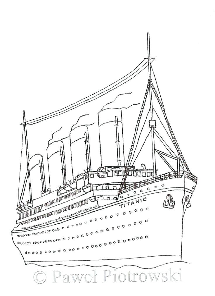 736x1012 Titanic Coloring Page Medium Size Of Titanic Coloring Pages