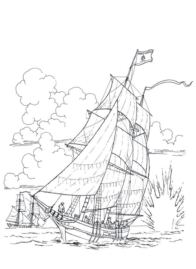 640x879 Best Ships Images On Ships, Coloring Pages