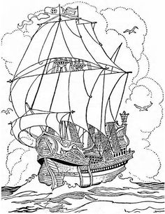 236x305 Coloring Pages Of Sailing Ships On Kids N On Kids N