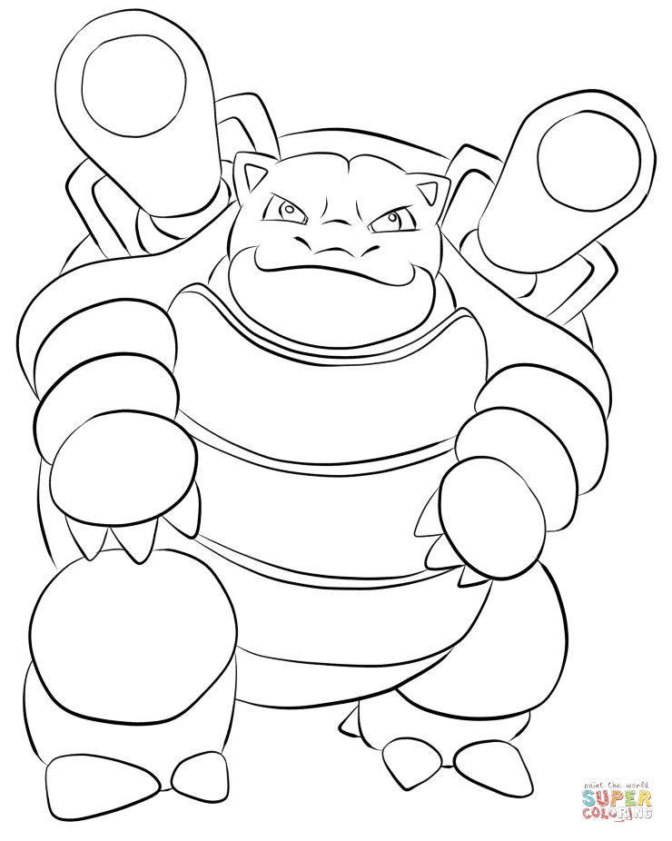 The Best Free Wartortle Coloring Page Images Download From 41