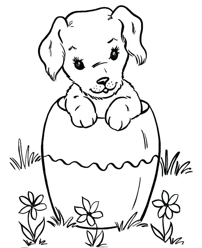 670x820 Halloween Dog Coloring Page Dogs Pictures To Color