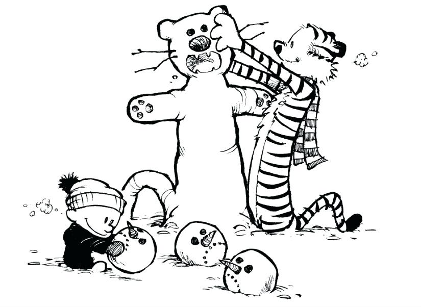 825x602 Calvin And Hobbes Coloring Pages Washing Machine Coloring Page
