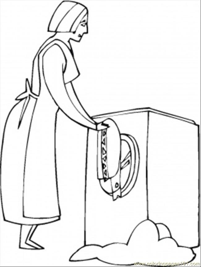 650x861 Home Appliances Coloring Pages