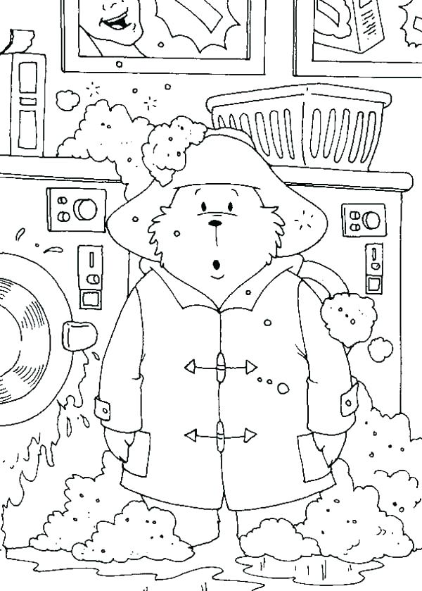600x839 Machine Coloring Pages Hand Washing Coloring Pages Washing Machine