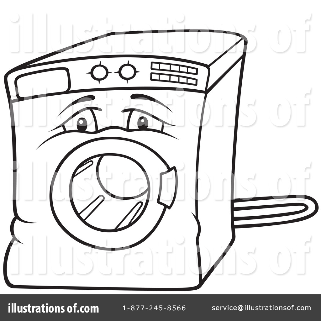 1024x1024 Washing Machine Clipart
