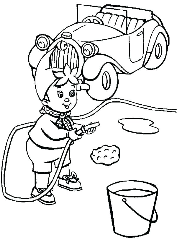 600x812 Car Wash Coloring Pages Coloring Ideas Pro