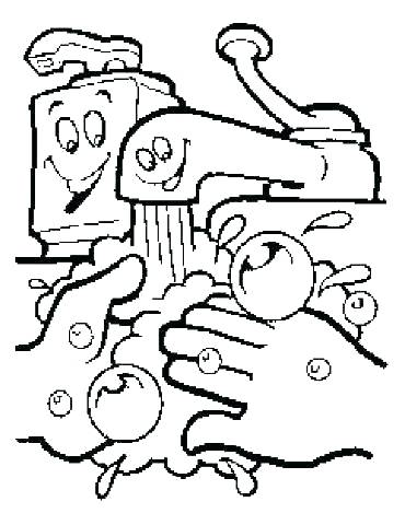 370x480 Coloring Pages Washing Machine Coloring Page Alphabet Coloring