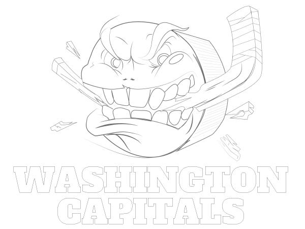 600x450 Printable Washington Capitals Coloring Sheet Nhl Coloring Sheets