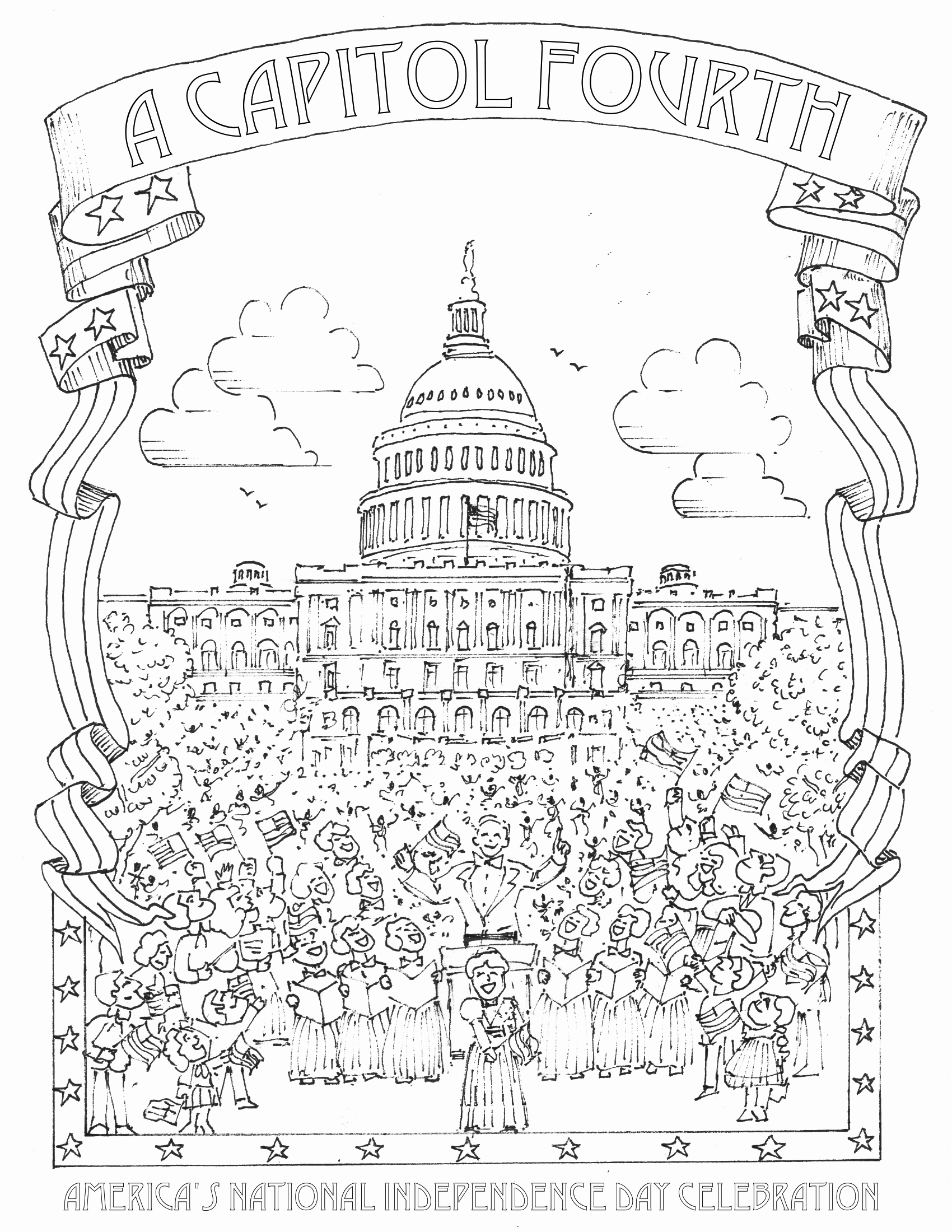 1700x2200 Best Of Photos Of Of July Coloring Pages