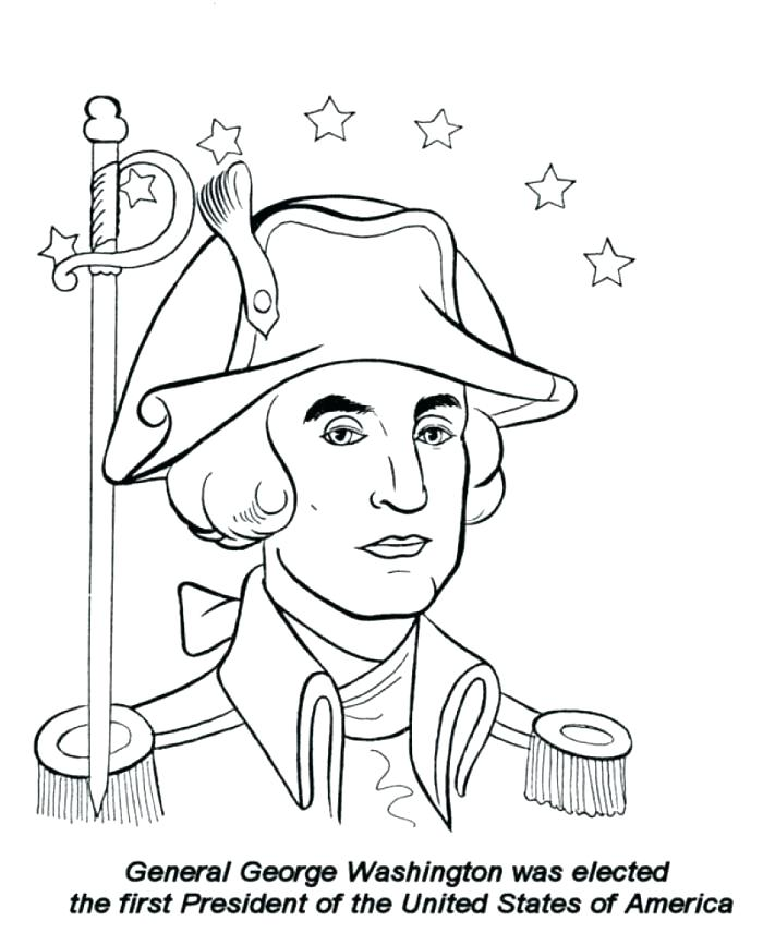 700x856 Washington Coloring Pages Coloring Sheet Presidents Day Coloring