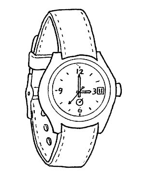 300x365 Watch Coloring