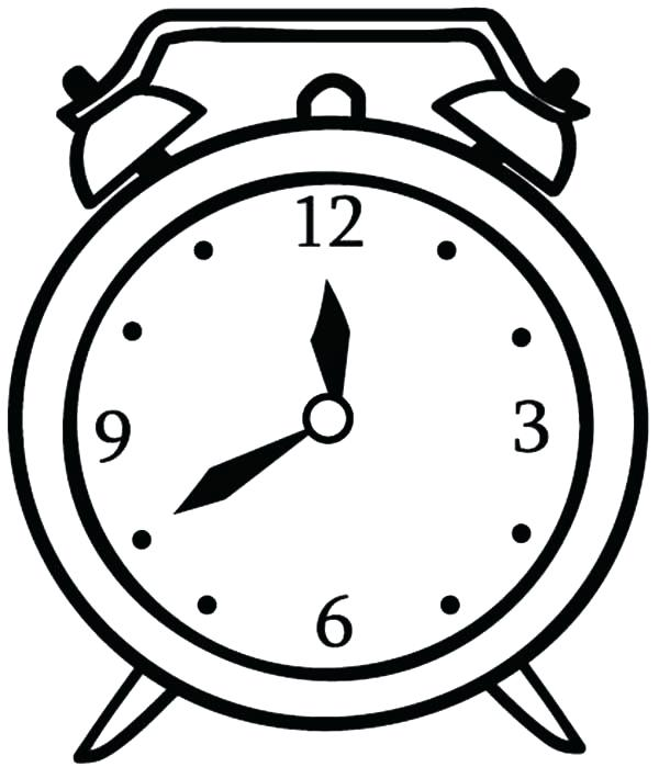 600x699 Watch Coloring Page Clock Colouring Page For Kids Wrist Watch