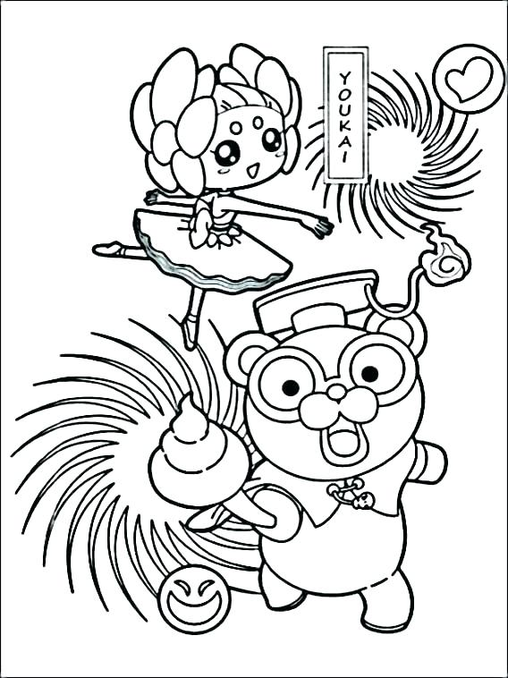 568x758 Watch Coloring Page