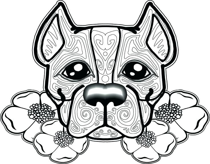 736x575 Dogs Coloring Pages Coloring Pages For Dogs Dog Coloring Pages