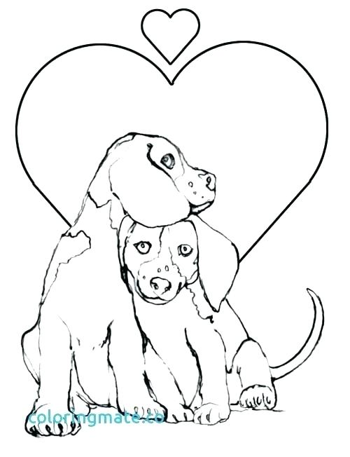 500x652 Dogs Coloring Pages Twelve Dogs Of Coloring Sheets Watch Dogs