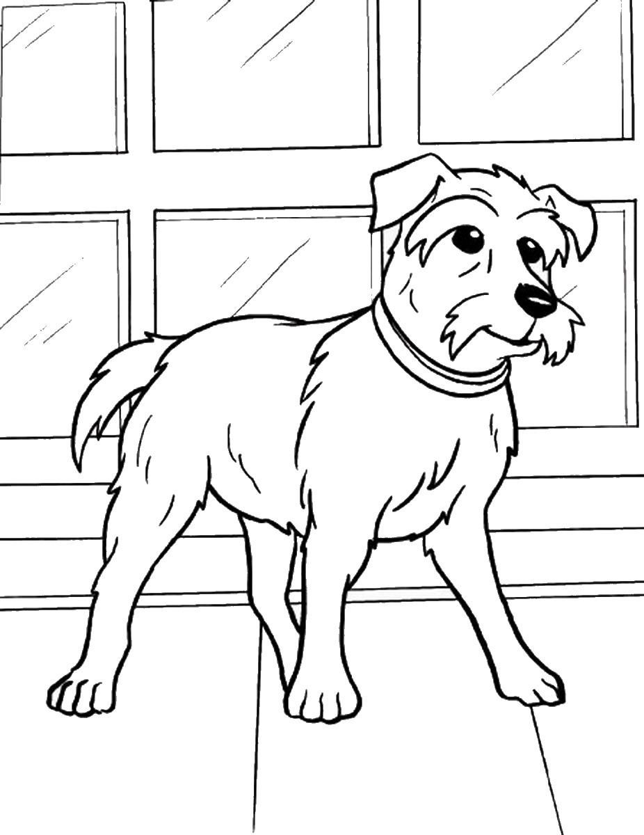 926x1200 Hotel For Dogs Coloring Pages