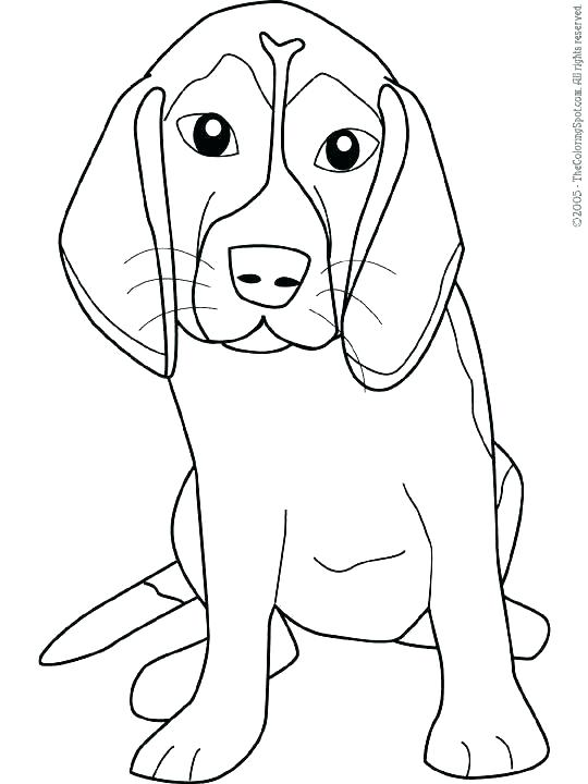 540x720 Dogs Coloring Pages