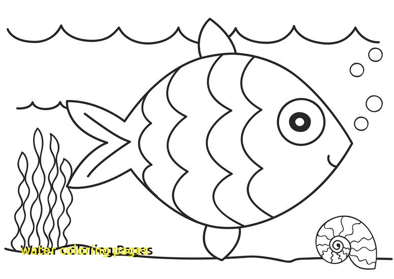 775x550 Water Coloring Pages With Coloring Pages Fish In Water Water