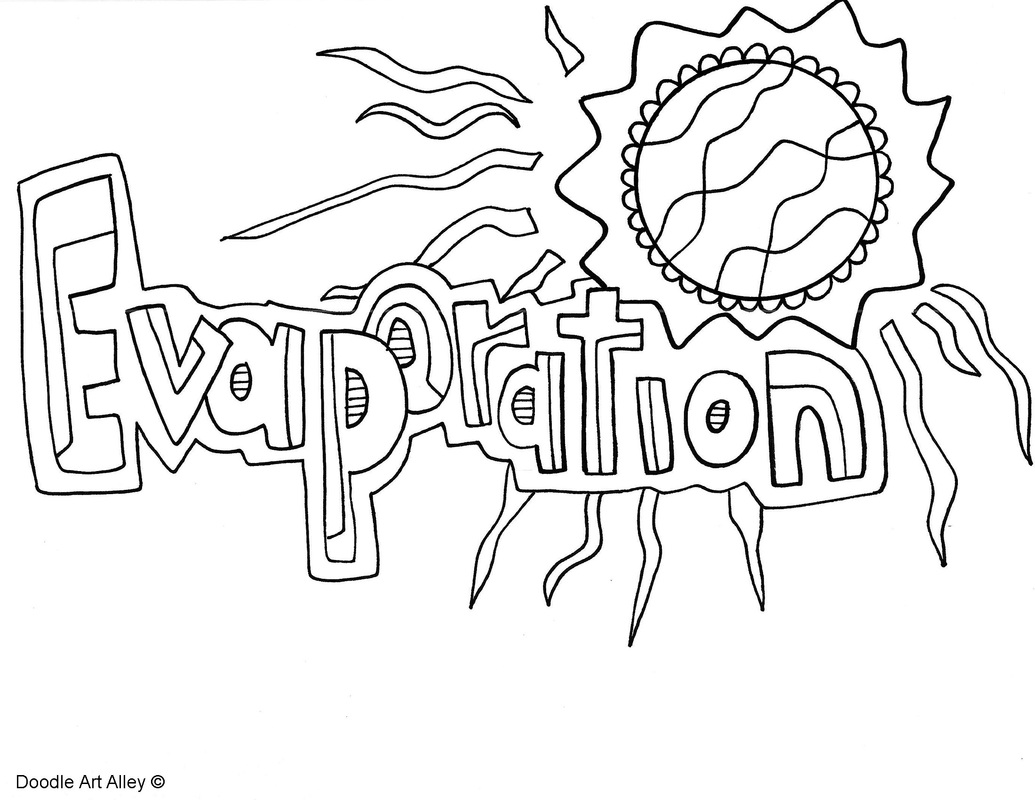Water Cycle Coloring Page At Getdrawings Free For