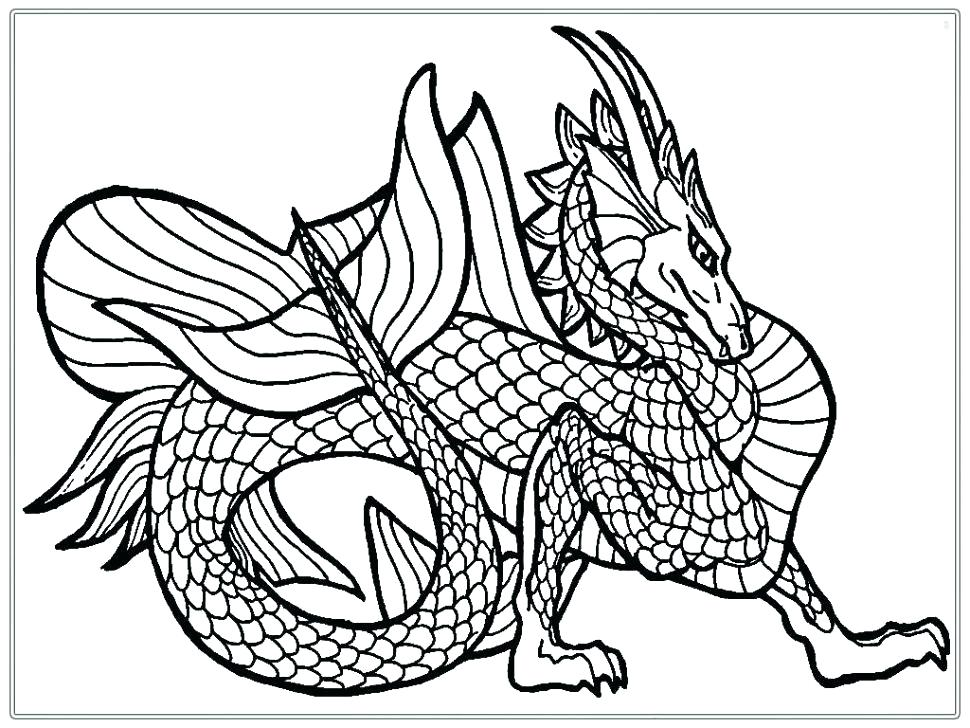 970x728 Real Dragon Coloring Pages New Real Dragon Coloring Pages For Your