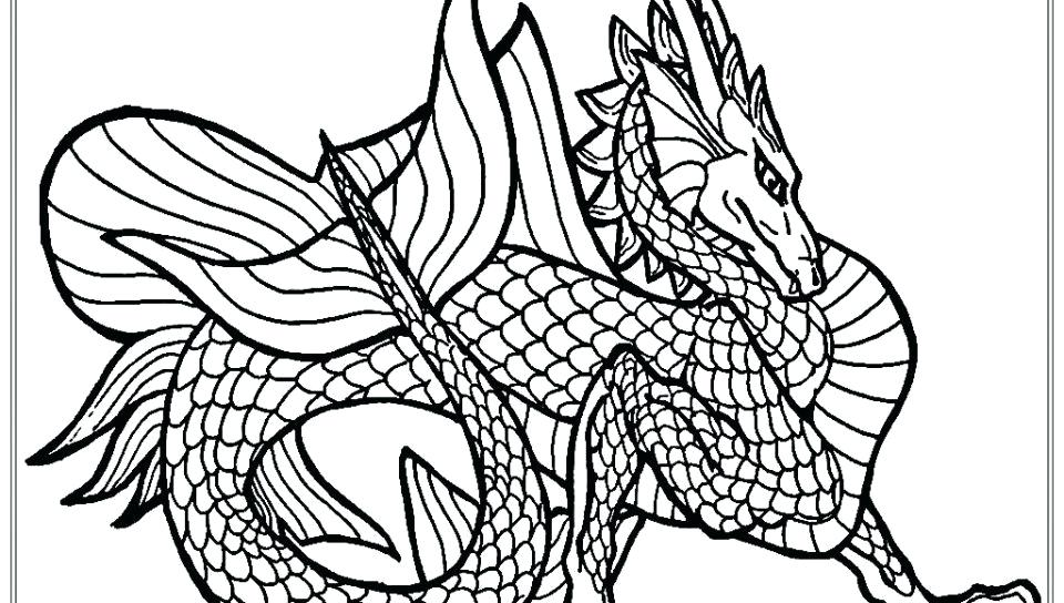 960x544 Realistic Dragon Coloring Pages Elegant Free Realistic Dragon