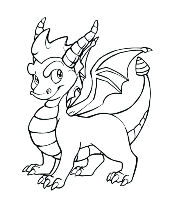 585x720 Chinese New Year Dragon Coloring Page New Year Dragon Coloring