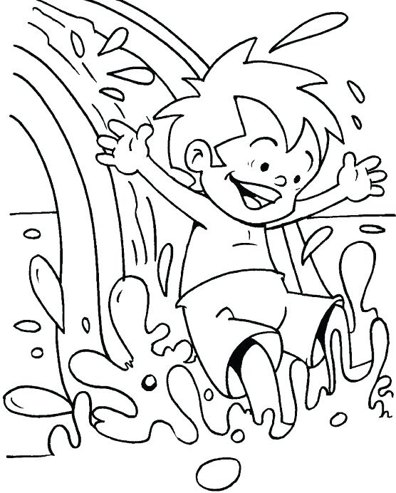 556x692 Coloring Pages For Water Copy New Drop Printable Also Download